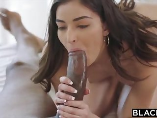 BLACKED School College Girl Vengeance Pounds Her Schoolteachers Heavy BLACK Load of shit