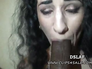 French Superhead Arabelle Raphael Multiracial Filthy Follower With Facial Cumshot- DSLAF