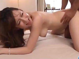 Astonishing Chinese honey, Reon Otowa got down and muddy with her seconded neighbor next door