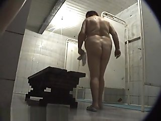Flagitious Shower, Amateur, Spy Cam Clip Uncut