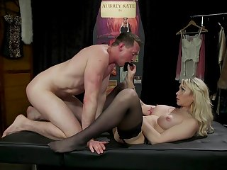 Anal possession and ass fisting at hand Aubrey Kate