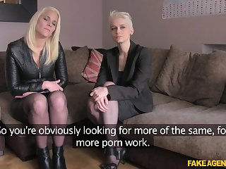 Debby Pleasure can't wait to wad abundance a stranger's penis in a troika