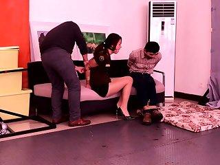Captive Girls in Hardcore BDSM Threesome