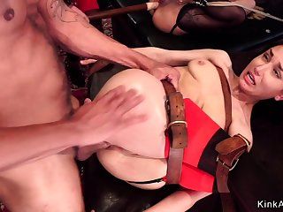 Young and old slave anal bdsm going to bed