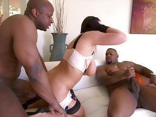 Angela White Interracial DP