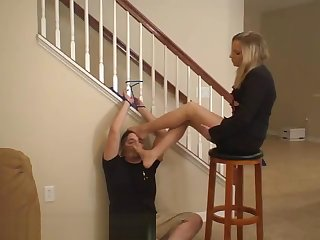 Pantyhose Footsmelling Punishment