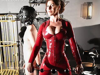 Viscountess Essex Torturing Her following Strapon CBT