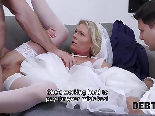 Loan manager gives bride a fortuity of getting rid of her debt