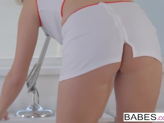 Fancy rectal - nasty nurse Nikky desire takes it less her booty porntube