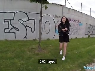 Public Agent Alessa Savage Gets Creampied Unserviceable