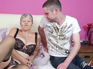 Gigantic mature ladies boobs showed off everywhere hardcore sex motion picture