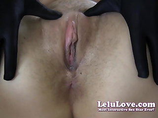 Lelu Love-Gloves Choker Boots Big White Chief Creampie (Pt. 2)