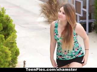 TeenPies - Creampied By Her Best Theatre troupe Dad