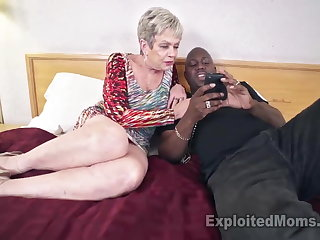 Busty Granny in Creampie Integument