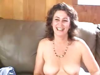 Horny bubbly mature cookie passionately touches herself